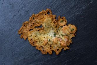 Tortillitas de Camaron shrimp cake recipe | holafoodie.com