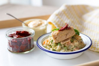 Ensaladilla Rusa Russian Salad recipe | holafoodie.com
