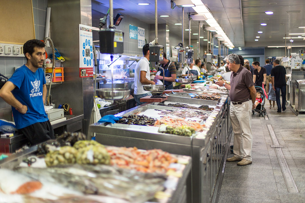 The Eusebio da Guarda market in A Coruña | holafoodie.com