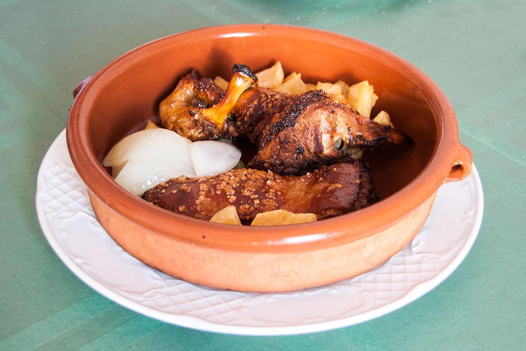 Goat roast in Lanzarote