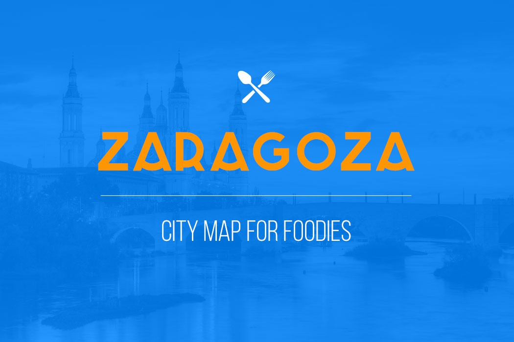 zaragoza city map for foodies