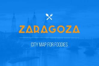 zaragoza city map for foodies