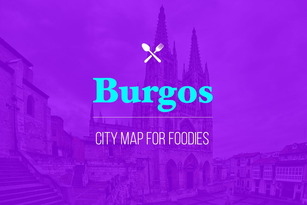 burgos city map for foodies