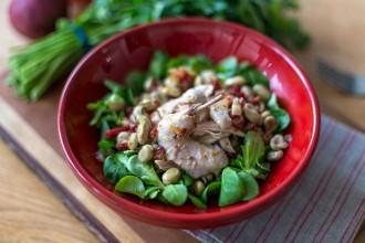 Escabeche Quail Salad Recipe | holafoodie.com