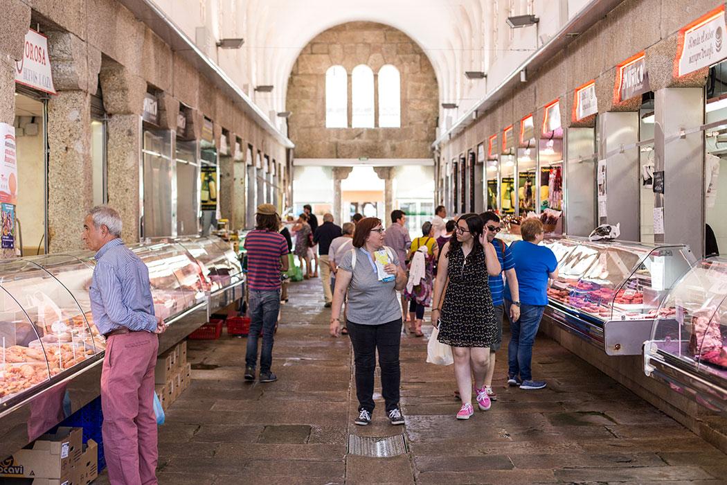 The central food market in Santiago de Compostela   holafoodie.com