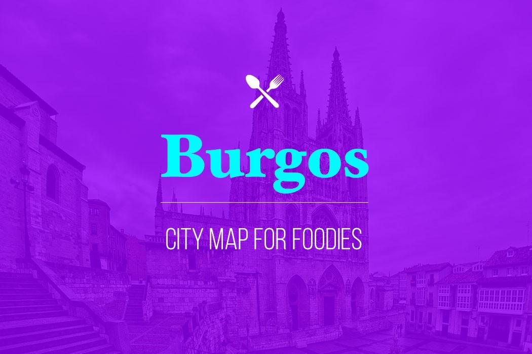 burgos city map for foodies